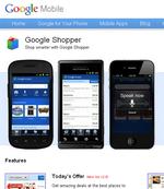 Сервис Google-Shopper