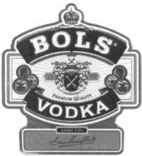 Зарегистрированный товарный знак компании Distilleerderijen Erven Lucas Bols B.V.